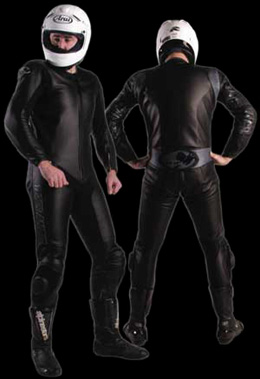 Extreme Classic Leather Motorcycle Suit