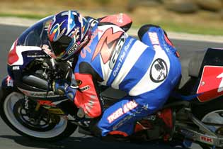 Shawn Gilesw Team Suzuki